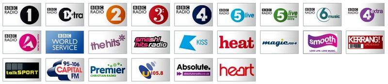 Radio on Freeview