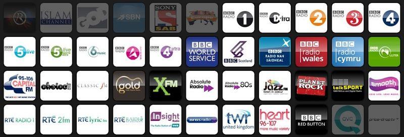 Radio on Freesat