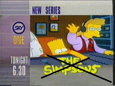 Simpsons not NOW